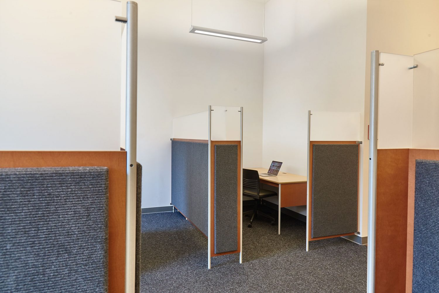 workstation with dividers not a cubicle
